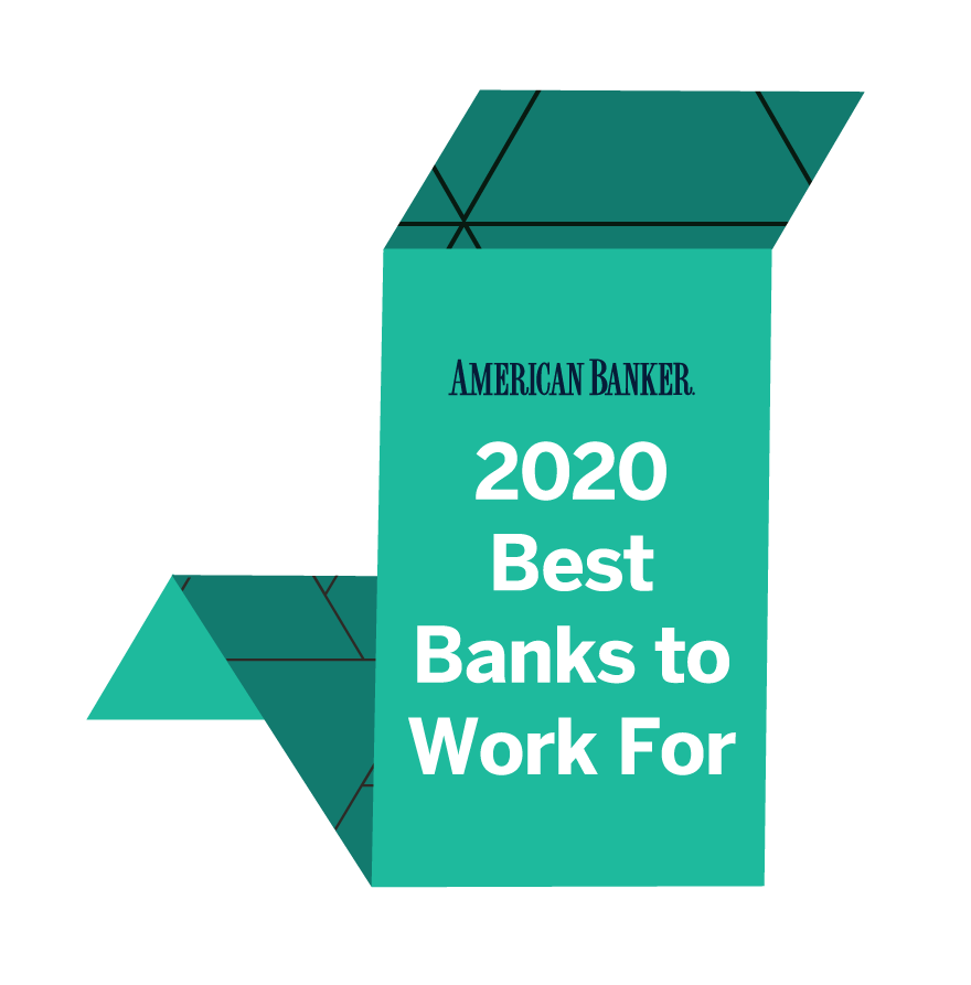 American Banker Best Bank to Work For Award 2020